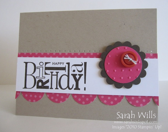 Clean Simple Melon And Crumb Cake Birthday Sarahs Ink Spot
