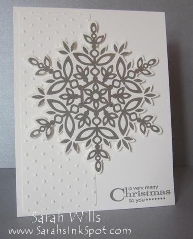 silversnowflakecard