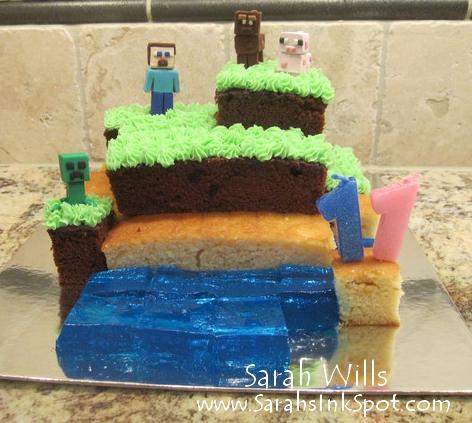 wholeminecraftcake
