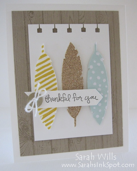 feathers-framelits-card