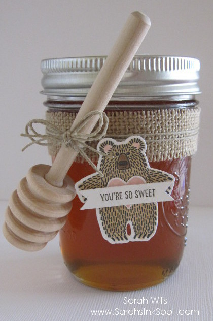 Honey Jar Front