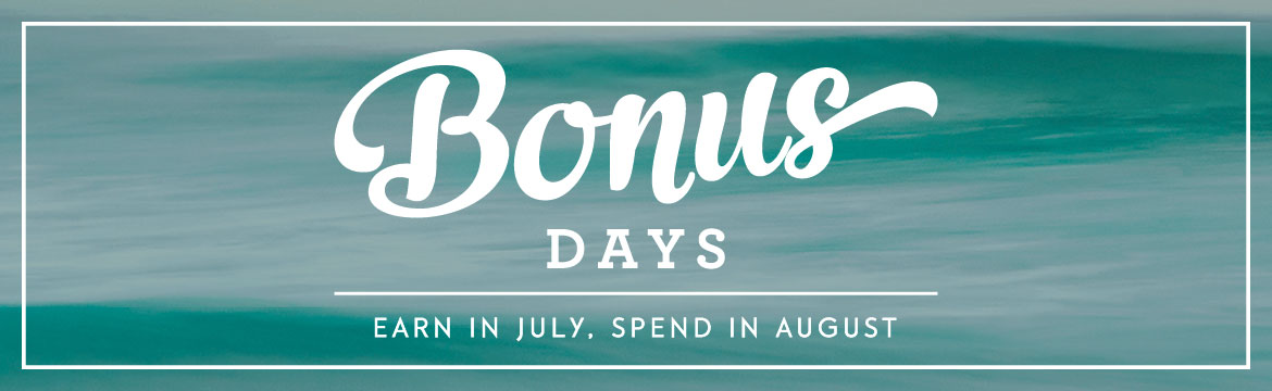bonus days header