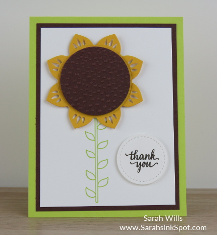 Stampin-Up-Eastern-Medallions-Thinlits-Sunflower-Thank-You-Card-Idea-Sarah-Wills-Sarahsinkspot-Stampinup-Sunflower