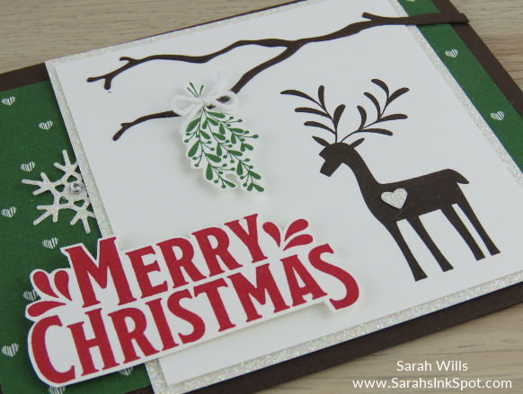 Stampin-Up-Merry-Mistletoe-Christmas-Holiday-Card-Idea-Sarah-Wills-Sarahsinkspot-Stampinup-CloseUpScene