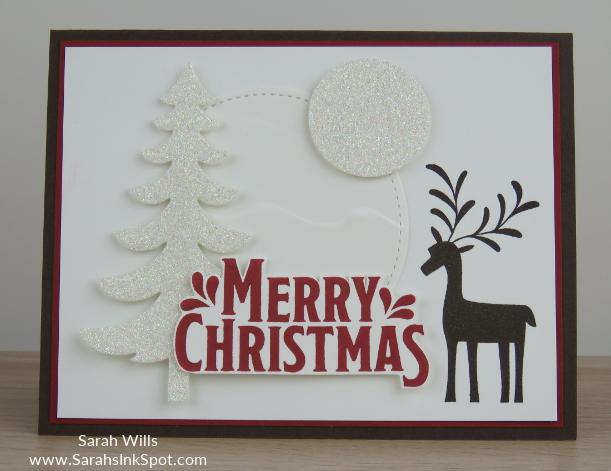 Stampin-Up-Merry-Mistletoe-Christmas-Holiday-Reindeer-Card-Idea-Sarah-Wills-Sarahsinkspot-Stampinup-Main