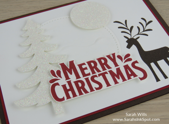 Stampin-Up-Merry-Mistletoe-Christmas-Holiday-Reindeer-Card-Idea-Sarah-Wills-Sarahsinkspot-Stampinup-Side