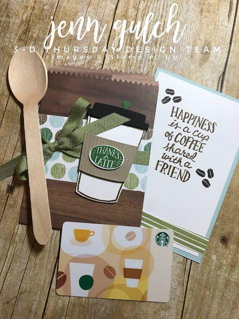 Stampin-Up-3D-Thursday-Coffee-Cafe-Break-Gift-Card-Holder-K-Cup-Idea-Sarah-Wills-Sarahsinkspot-Stampinup-Closeup