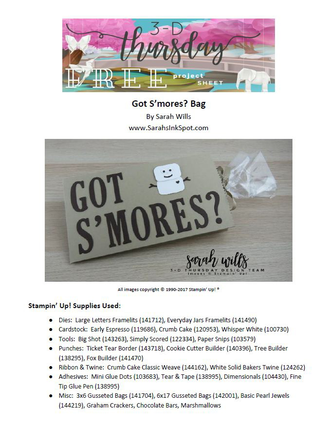 Stampin-Up-3D-Thursday-Got-Smores-Marshmallow-Man-Treat-Bag-Idea-Sarah-Wills-Sarahsinkspot-Stampinup-Project-Sheet