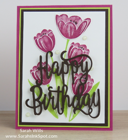 Stampin-Up-Tranquil-Tulips-Happy-Birthday-Thinlits-Card-Idea-Host-Sarah-Wills-Sarahsinkspot-Stampinup-Main