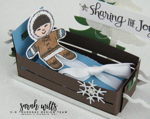 Stampin-Up-3D-Thursday-Dog-Sled-Wood-Crate-Santas-Sleigh-Cookie-Cutter-Reindeer-Die-Idea-Sarah-Wills-Sarahsinkspot-Stampinup-inuitcloseup