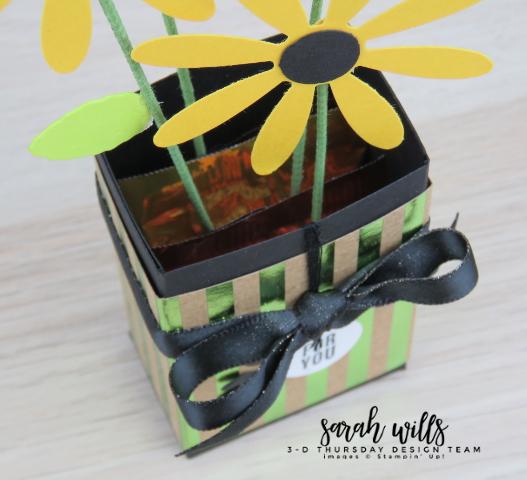 Stampin-Up-3D-Thursday-Ghirardelli-Chocolate-Flower-Vase-Daisy-Idea-Sarah-Wills-BirdsEyeView