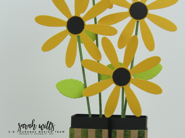 Stampin-Up-3D-Thursday-Ghirardelli-Chocolate-Flower-Vase-Daisy-Idea-Sarah-Wills-Flowers