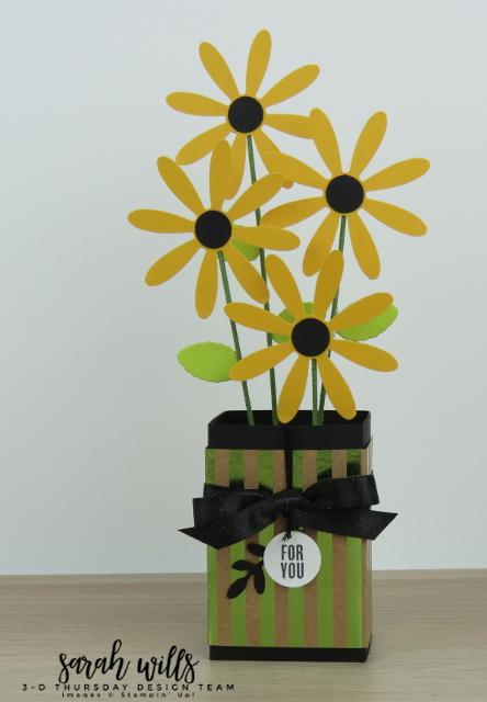 Stampin-Up-3D-Thursday-Ghirardelli-Chocolate-Flower-Vase-Daisy-Idea-Sarah-Wills-Main2