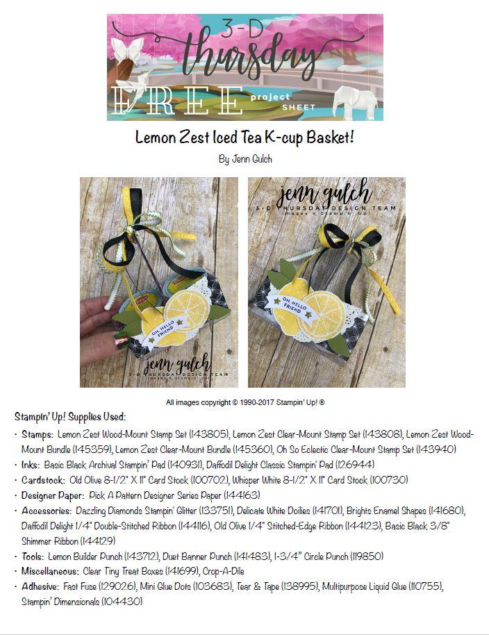 Stampin-Up-3D-Thursday-Lemon-Zest-Bundle-Tea-Basket-Project-Sheet-Idea-Sarah-Wills-Sarahsinkspot-Stampinup-Tutorial