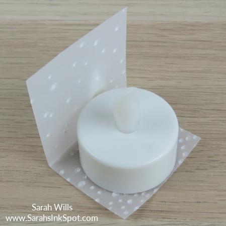 Stampin-Up-3D-Treat-Bag-Merry-Mistletoe-Sprigs-Gold-Snowflake-Idea-Sarah-Wills-Sarahsinkspot-Stampinup-Day2-Tealight