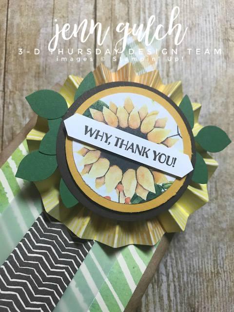 Stampin-Up-3D-Thursday-Gourd-Goodness-Painted-Autumn-Sunflower-Fall-Thanksgiving-Treat-Bag-Idea-Sarah-Wills-Sarahsinkspot-Stampinup-Rosette