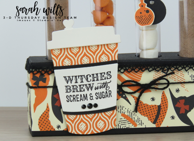Stampin-Up-3D-Thursday-Halloween-Test-Treat-Tube-Rack-Spooky-Night-Merry-Cafe-Coffee-Cups-Idea-Sarah-Wills-Sarahsinkspot-Stampinup-Cup