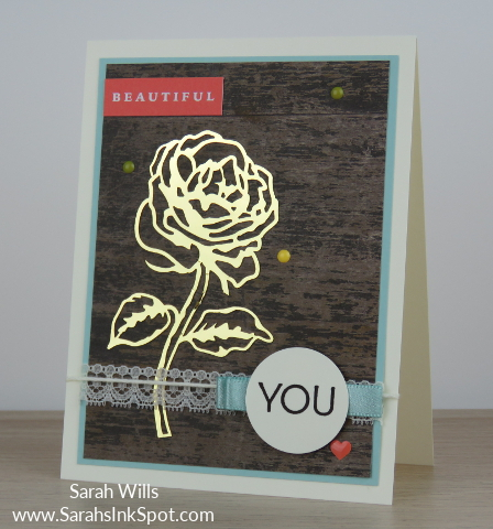Stampin-Up-Color-Fusers-Memories-More-Petal-Garden-Wood-Textures-Gold-Foil-Card-Idea-Sarah-Wills-Sarahsinkspot-Stampinup-Main