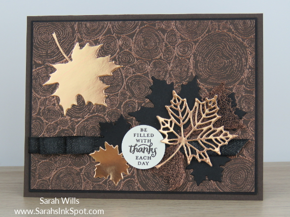 Stampin-Up-Copper-Emboss-Tree-Rings-Foil-Leaf-Seasonal-Layers-Layered-Leaves-Fall-Thanksgiving-Card-Idea-Sarah-Wills-Sarahsinkspot-Stampinup-Main