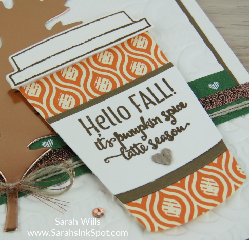 Stampin-Up-Merry-Cafe-Fall-Copper-Foil-Leaf-Pumpkin-Spice-Latte-Cable-Knit-Card-Idea-Sarah-Wills-Sarahsinkspot-Stampinup-CupCloseup