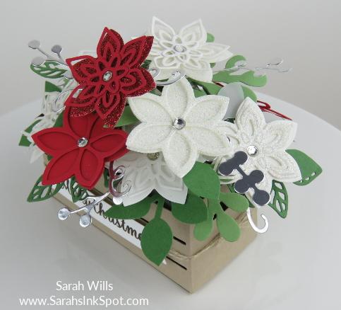 Stampin-Up-Wood-Crate-Christmas-Flower-Basket-Quilt-Builder-Flourish-Leaf-Punch-Idea-Sarah-Wills-Sarahsinkspot-Stampinup-Corner
