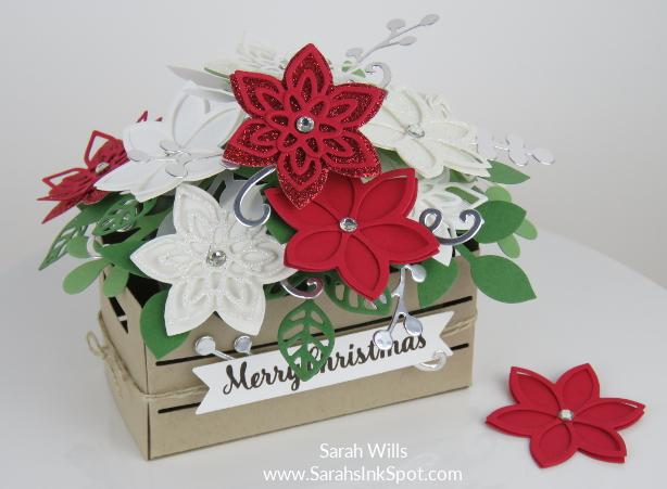 Stampin-Up-Wood-Crate-Christmas-Flower-Basket-Quilt-Builder-Flourish-Leaf-Punch-Idea-Sarah-Wills-Sarahsinkspot-Stampinup-Main