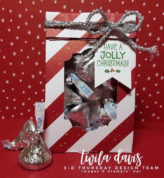Stampin-Up-3D-Thursday-Be-Merry-DSP-Hershey-Kiss-Treat-Bag-Tinsel-Idea-Sarah-Wills-Sarahsinkspot-Stampinup-Main