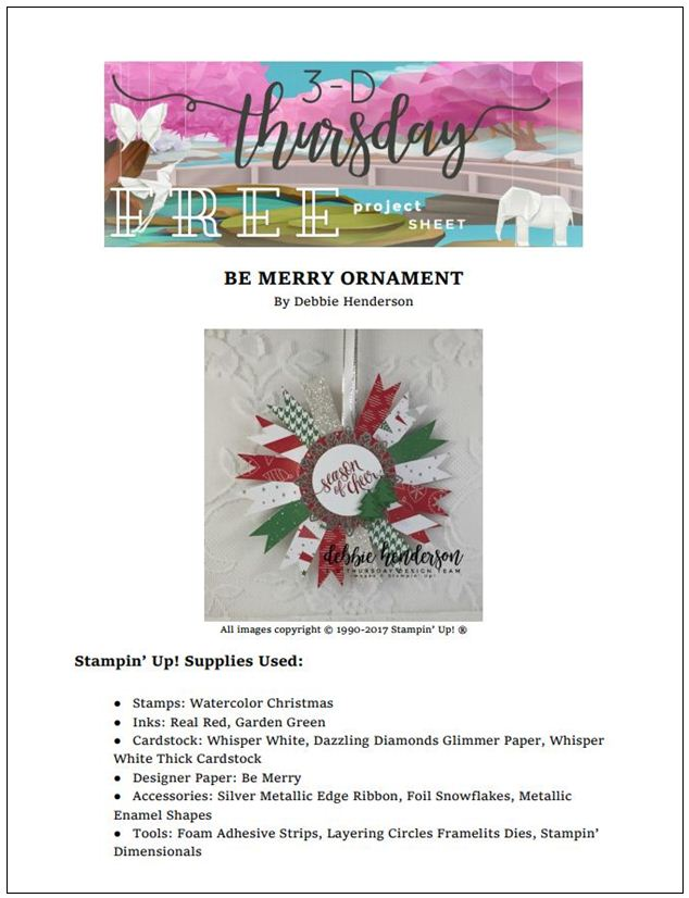 Stampin-Up-3D-Thursday-Christmas-Be-Merry-Ornament-Foil-Snowflake-Idea-Sarah-Wills-Sarahsinkspot-Stampinup-Project-Sheet-Cover (2)