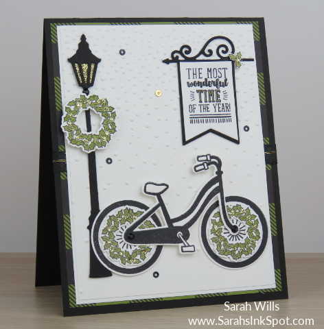 Stampin-Up-Bike-Ride-Holly-Wheel-Bicycle-Lamppost-Christmas-Holiday-Card-Idea-Sarah-Wills-Sarahsinkspot-Stampinup-Main