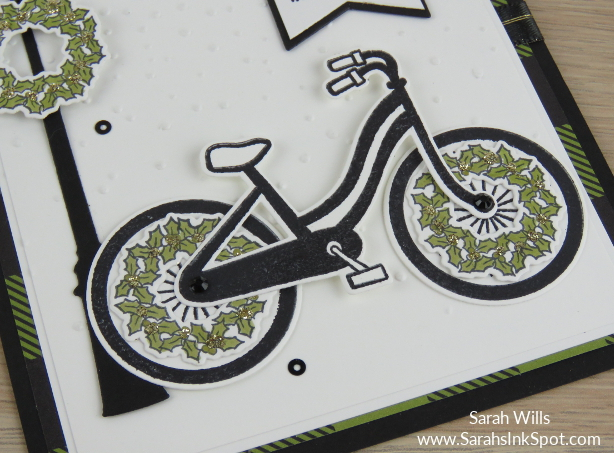 Stampin-Up-Bike-Ride-Holly-Wheel-Bicycle-Lamppost-Christmas-Holiday-Card-Idea-Sarah-Wills-Sarahsinkspot-Stampinup-wheels