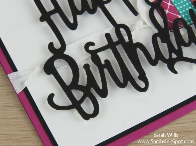 Stampin-Up-Happy-Birthday-Thinlits-Merry-Patterns-Card-Idea-Sarah-Wills-Sarahsinkspot-Stampinup-Ribbon