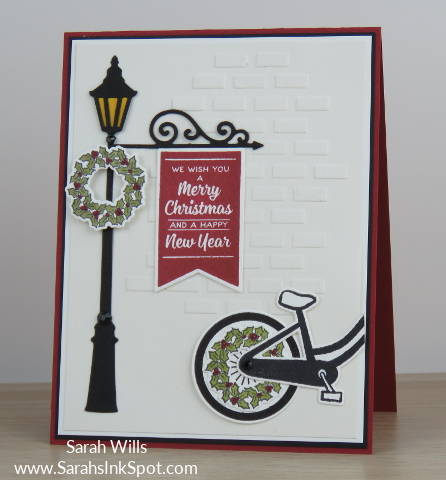 Stampin-Up-Inky-Friends-Brightly-Lit-Christmas-Lampost-Build-a-Bike-Ride-Thinlits-At-Home-Christmas-Card-Idea-Sarah-Wills-Sarahsinkspot-Stampinup-Main1