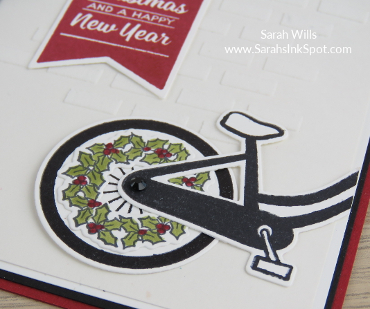 Stampin-Up-Inky-Friends-Brightly-Lit-Christmas-Lampost-Build-a-Bike-Ride-Thinlits-At-Home-Christmas-Card-Idea-Sarah-Wills-Sarahsinkspot-Stampinup-Wheel-Wreath