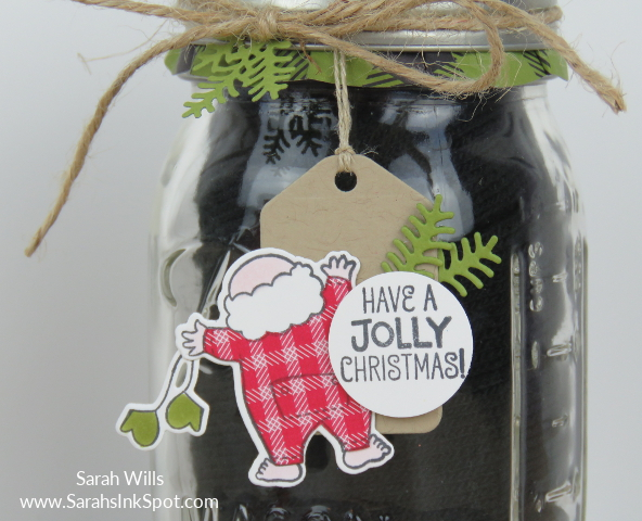 Stampin-Up-Inky-Friends-Gifts-Santas-Suite-Topper-Tag-Mason-Jar-Gloves-Idea-Sarah-Wills-Sarahsinkspot-Stampinup-CloseUp