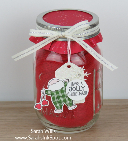 Stampin-Up-Inky-Friends-Gifts-Santas-Suite-Topper-Tag-Mason-Jar-Gloves-Idea-Sarah-Wills-Sarahsinkspot-Stampinup-Red-Jar