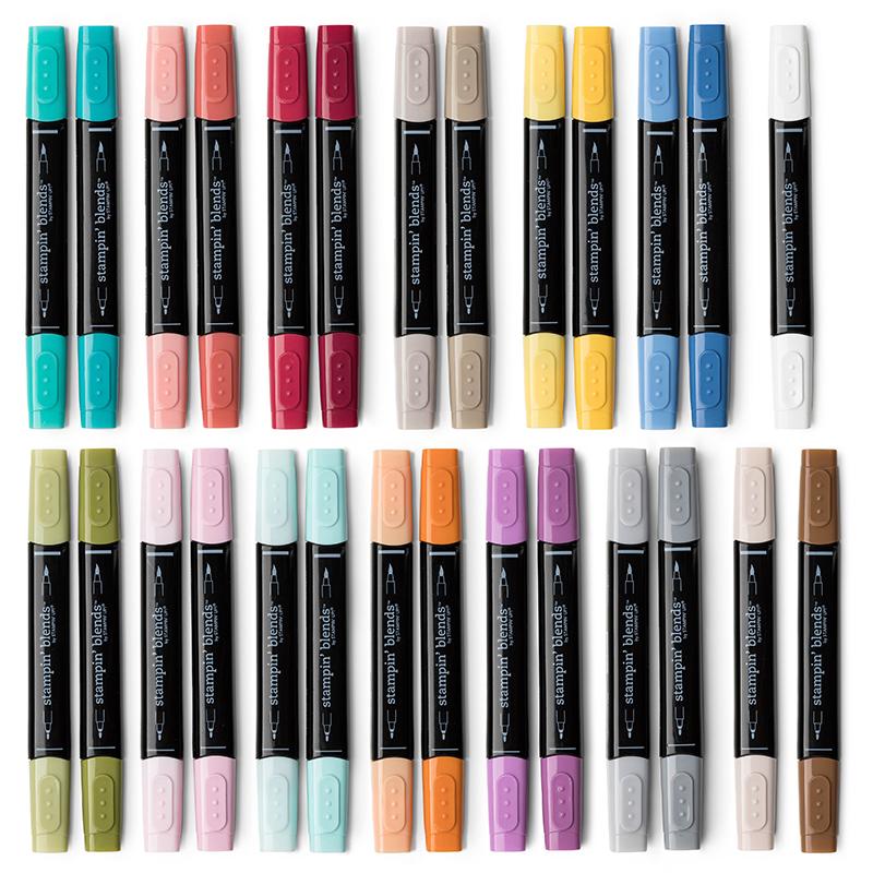 Stampin-Up-Stampin-Blends-Alcohol-Markers-Sarah-Wills-Sarahsinkspot-Stampinup-Collection