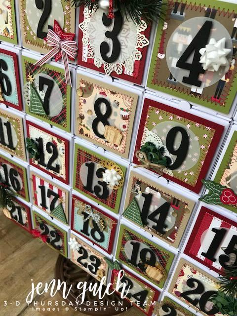 Stampin-Up-3D-Thursday-Christmas-Advent-Calendar-Idea-Mini-Pizza-Boxes-Sarah-Wills-Sarahsinkspot-Stampinup-A