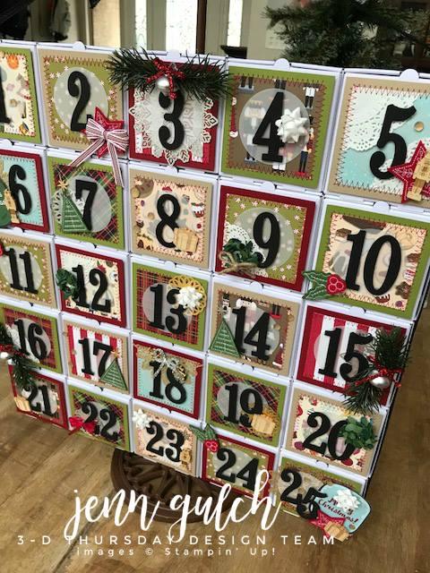 Stampin-Up-3D-Thursday-Christmas-Advent-Calendar-Idea-Mini-Pizza-Boxes-Sarah-Wills-Sarahsinkspot-Stampinup-B