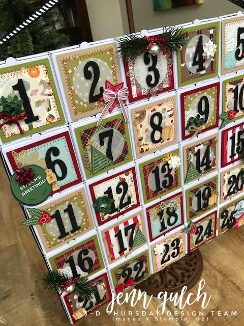Stampin-Up-3D-Thursday-Christmas-Advent-Calendar-Idea-Mini-Pizza-Boxes-Sarah-Wills-Sarahsinkspot-Stampinup-C