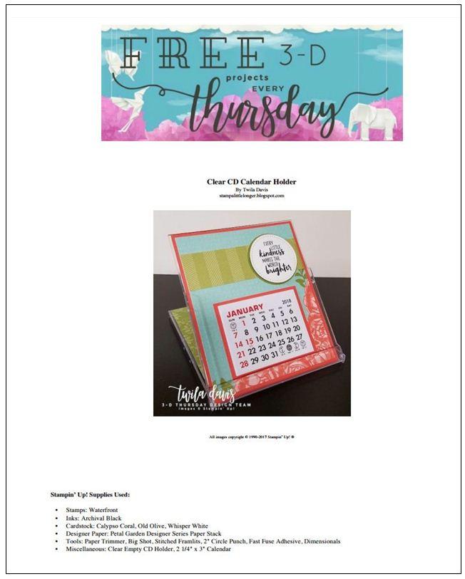 Stampin-Up-3D-Thursday-Desktop-Calendar-CD-Case-Idea-Sarah-Wills-Sarahsinkspot-Stampinup-Cover-Sheet