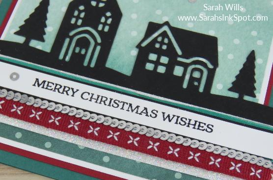 Stampin-Up-December-2017-Color-Fusers-Design-Team-Blog-Hop-Christmas-Flying-Santa-House-Silhouette-Night-Sky-Scene-Card-Idea-Sarah-Wills-Sarahsinkspot-Stampinup-Ribbons