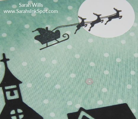 Stampin-Up-December-2017-Color-Fusers-Design-Team-Blog-Hop-Christmas-Flying-Santa-House-Silhouette-Night-Sky-Scene-Card-Idea-Sarah-Wills-Sarahsinkspot-Stampinup-Sleigh