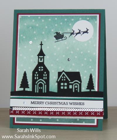 Stampin-Up-December-2017-Color-Fusers-Design-Team-Blog-Hop-Christmas-Flying-Santa-House-Silhouette-Night-Sky-Scene-Card-Idea-Sarah-Wills-Sarahsinkspot-Stampinup