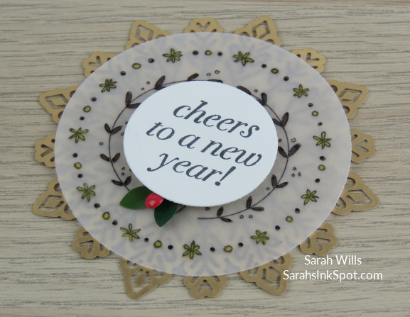Stampin-Up-Inky-Friends-Blog-Hop-New-Year-Blends-Cheers-to-the-Year-Champagne-Bottle-Topper-Tag-Foil-Snowflake-Idea-Sarah-Wills-Sarahsinkspot-Stampinup