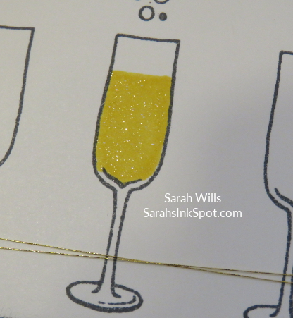 Stampin-Up-Inky-Friends-Blog-Hop-New-Year-Blends-Cheers-to-the-Year-Champagne-Glass-Bubbles-Idea-Sarah-Wills-Sarahsinkspot-Stampinup-SparklyGlass