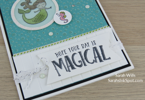 Stampin-Up-Myths-Magic-Magical-Day-Mermaid-Seahorse-Stripes-Bubbles-Under-Sea-Kids-Girl-Birthday-Card-Idea-Sarah-Wills-Sarahsinkspot-Stampinup-Banner