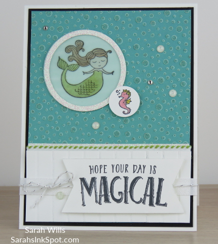 Stampin-Up-Myths-Magic-Magical-Day-Mermaid-Seahorse-Stripes-Bubbles-Under-Sea-Kids-Girl-Birthday-Card-Idea-Sarah-Wills-Sarahsinkspot-Stampinup-Main