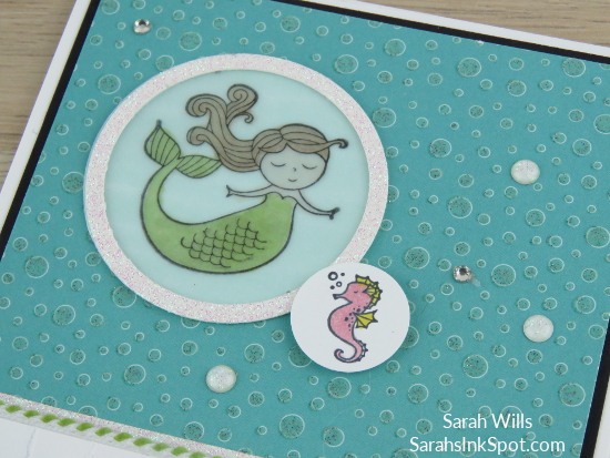 Stampin-Up-Myths-Magic-Magical-Day-Mermaid-Seahorse-Stripes-Bubbles-Under-Sea-Kids-Girl-Birthday-Card-Idea-Sarah-Wills-Sarahsinkspot-Stampinup-Porthole