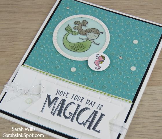 Stampin-Up-Myths-Magic-Magical-Day-Mermaid-Seahorse-Stripes-Bubbles-Under-Sea-Kids-Girl-Birthday-Card-Idea-Sarah-Wills-Sarahsinkspot-Stampinup-Side