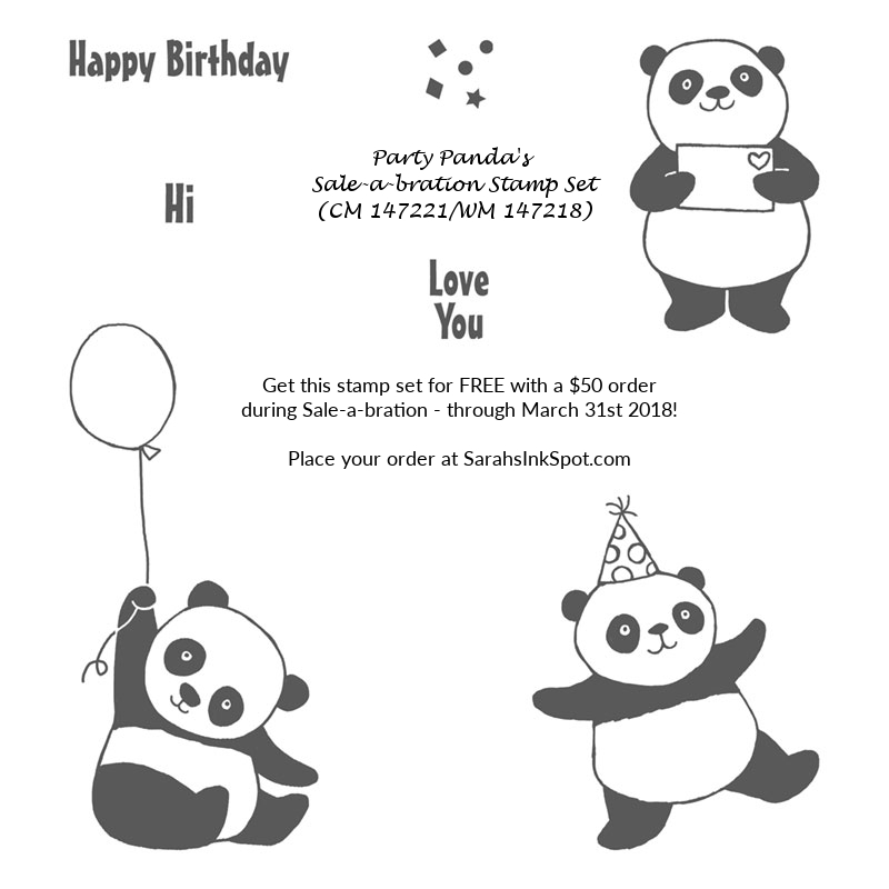 Stampin-Up-2018-Saleabration-SAB-Party-Pandas-Sarah-Wills-Sarahsinkspot-Stampinup-147221-147218-2